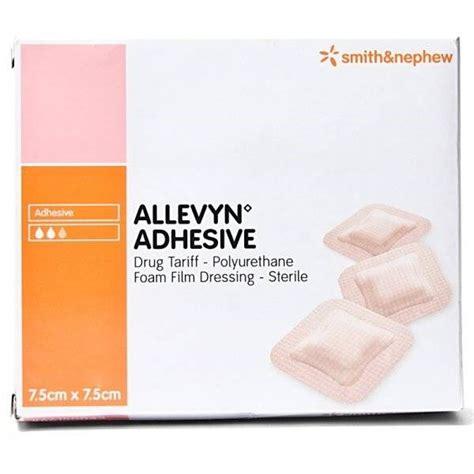 Allevyn Non Adhesive 10 Cm 20 Cm Foam Dressing allevyn adhesive foam dressing 7 5cm x 7 5cm x 10 world