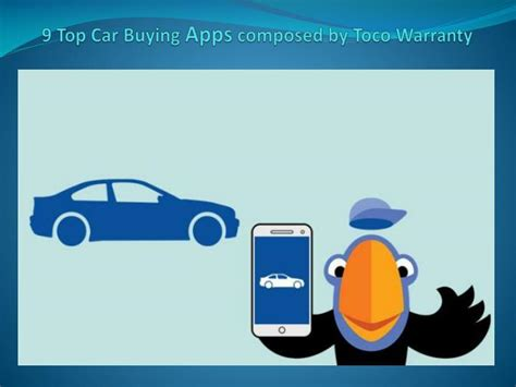 how apps can help in the car buying process bankrate com ppt 9 preferred car buying programs composed by toco