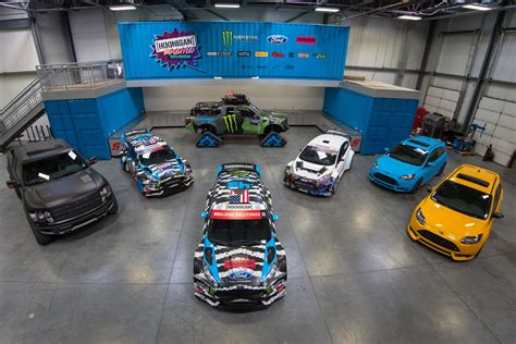 Ford World Headquarters Garage by Hoonigan Racing Headquarters
