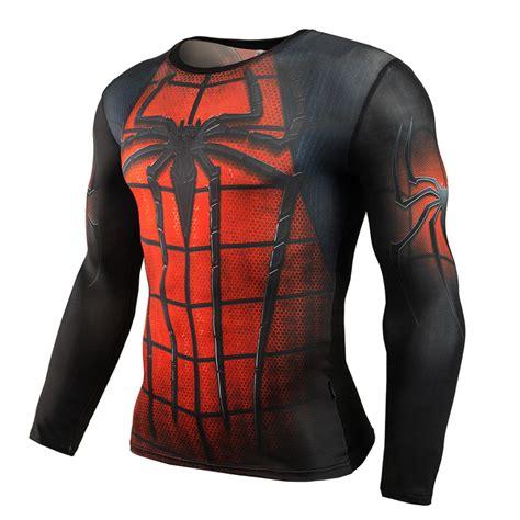 Longsleeve Anime Marine Big One crossfit sleeve compression shirt 3d anime superman captain america t shirt