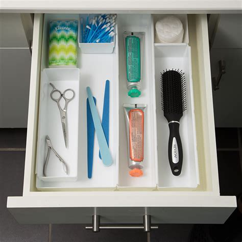 Slotted Interlocking Drawer Organizers by Bathroom Drawer Organizers Acrylic Drawer Organizers