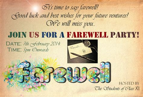 Farewell Banner Template farewell banners quotes images