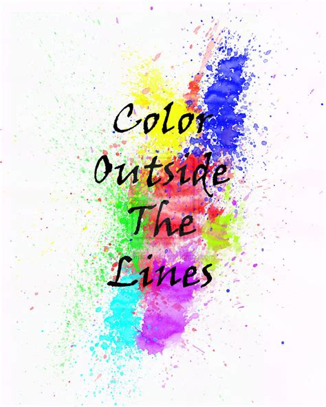 color outside the lines by majorpayne11 on deviantart