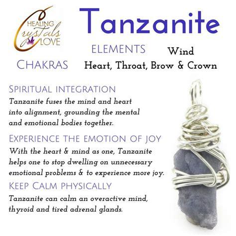tanzanite healing crystals meanings crystal healing