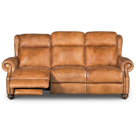 Brown Leather Sofa Recliner by Whiskey Light Brown Leather Power Reclining Sofa Hancock