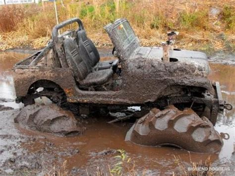 Jeeps In Mud Jeep In A Mud My Jeep
