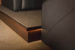 How To Build A Media Room Platform - guide to building a home theater stage home theater room design