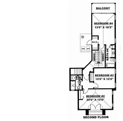 spacious 3 bedroom house plans spacious four bedroom home plan 66105we architectural