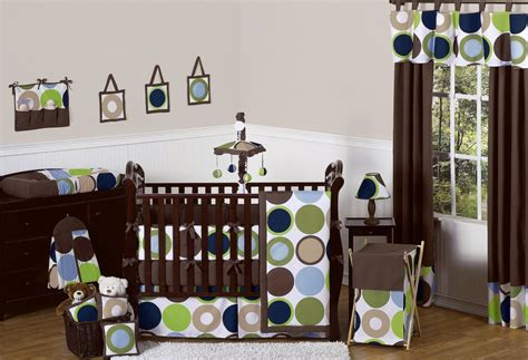 Green And Blue Crib Bedding Bedroom Impressing Modern Crib Bedding For Boys For Decorating New Baby Born Bedroom Founded