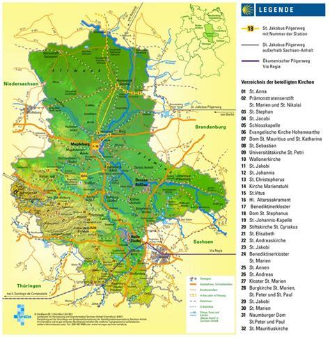 saxony germany map large detailed map of saxony anhalt