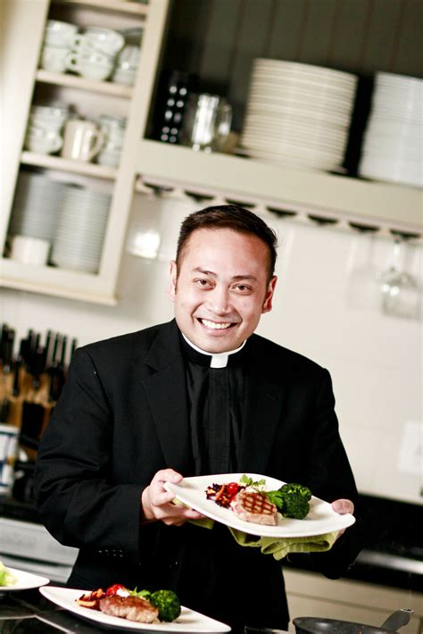 cuisine priest the cooking priest to headline bishop s dinner in sioux