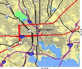 Baltimore City Zip Code Map by Alfa Img Showing Gt Baltimore City Zip Code Map