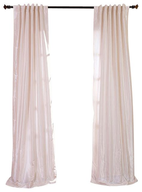 white faux silk drapes off white textured vintage faux dupioni silk curtain