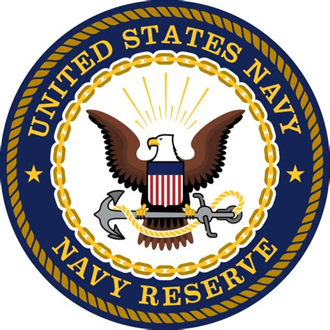 U S Navy file seal of the united states navy reserve svg