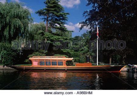 fishing boat hire on the thames boating on river thames old windsor berkshire england