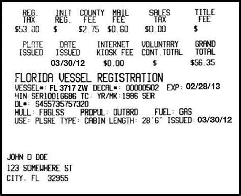 florida boat registration renewal lee county vessel registration renewal florida