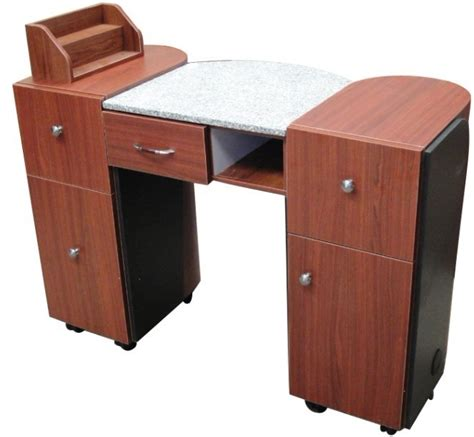 classic series nail table w marble top an912c cherry