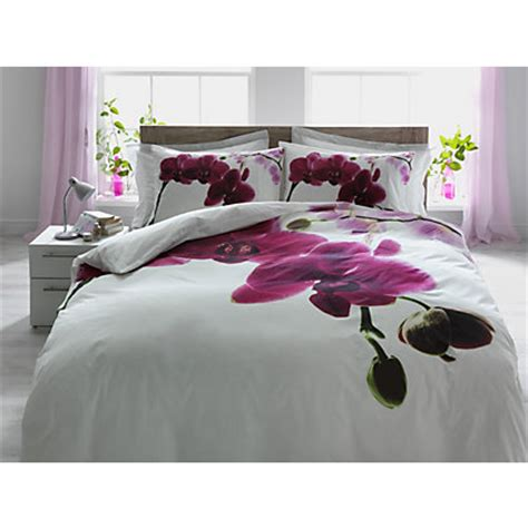 orchid comforter orchid multicoloured bedding set double