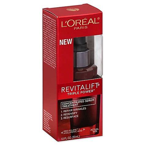 Serum Wajah L Oreal l oreal 174 revitalift 174 1 oz power concentrated serum www bedbathandbeyond
