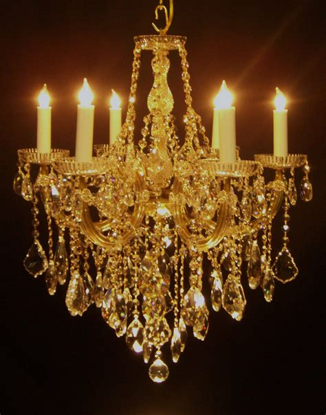 Gold Chandeliers 6 Light Gold Italian Chandelier Morton S Antiques