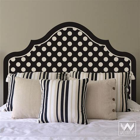 Removable Headboard by Headboard Removable Wall Decals Wallternatives