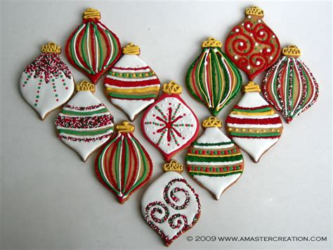 cookie ornament cookie collection 2009 ornaments