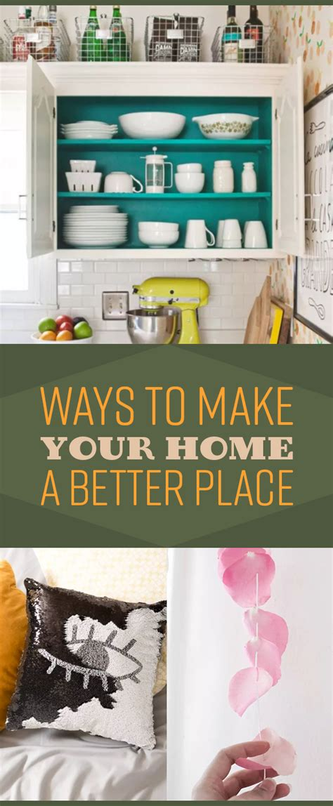 29 easy and ways to make your home a better
