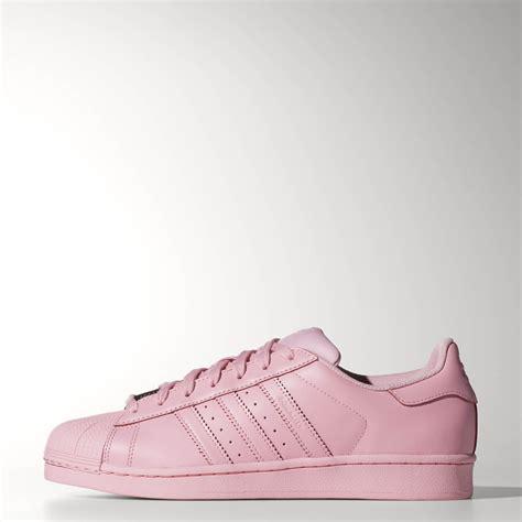 adidas superstar supercolor shoes pink adidas us