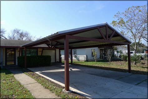 With your new carport you will not ever have to scrape a