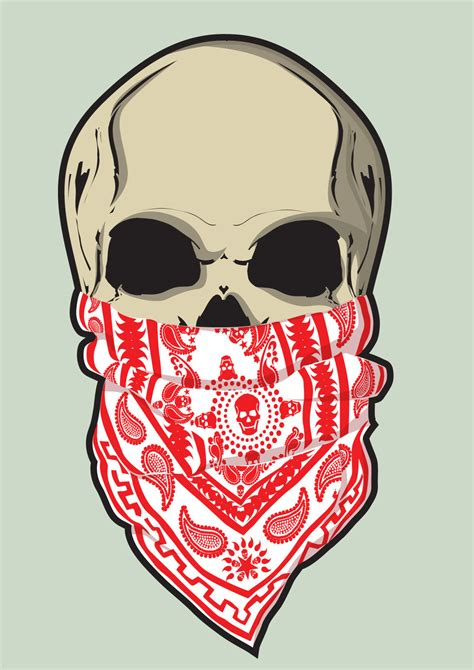 skull bandana tattoo designs skull and bandana by nata13 on deviantart