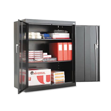 adjustable cabinet shelves assembled 42 quot high storage cabinet w adjustable shelves