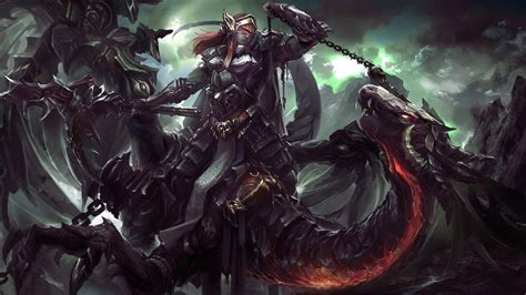wallpaper anime action women warriors artwork concept art fantasy art dragon