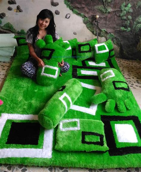 Karpet Karakter Kotak produksi karpet set di mamasa karpet karakter kartun