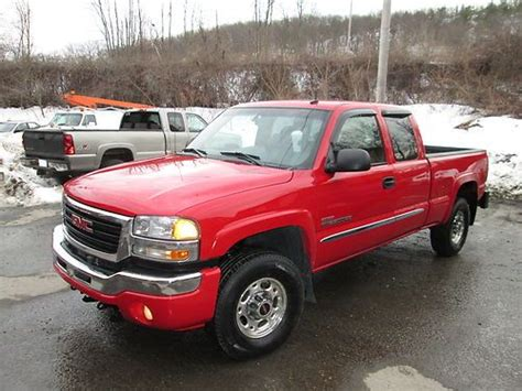how does cars work 2003 gmc sierra 2500 instrument cluster purchase used 2003 gmc sierra 2500 hd slt extended cab pickup 4 door 6 6l in fitchburg