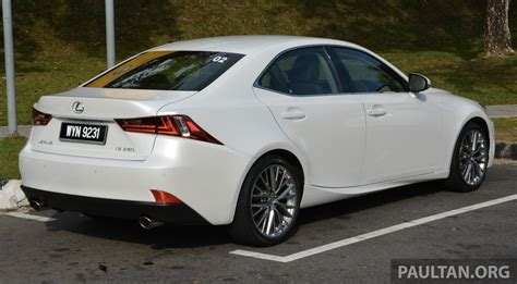 driven lexus is 250 luxury and f sport sled image 184930
