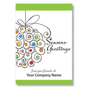 season greetings cards for businesses season s greetings card