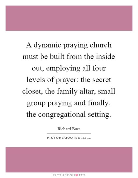 the in the of the church the dynamic of god books a dynamic praying church must be built from the inside out