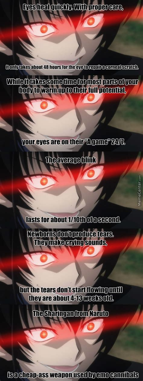 Inreresting eye facts anime the legend of the legendary heroes