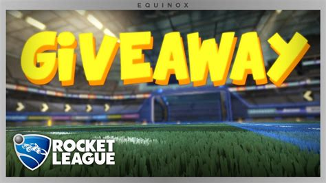 Rocket League Giveaway - rocket league giveaway youtube
