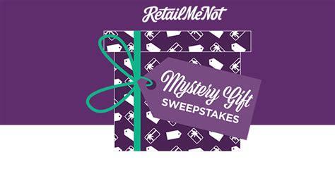 Retailmenot Sweepstakes - retailmenot sweepstakes win the retailmenot mystery gift sweepstakes
