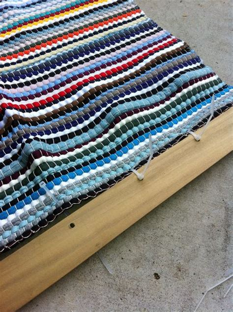 rugs and blinds diy rag rug roll up blinds