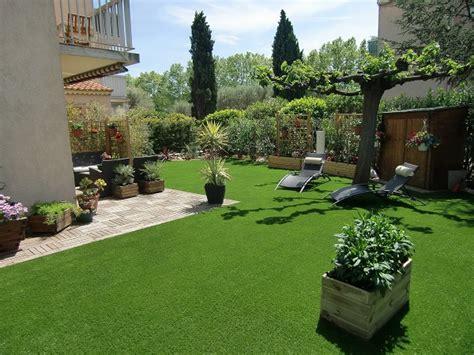 gazon jardin gazon synth 233 tique jardin