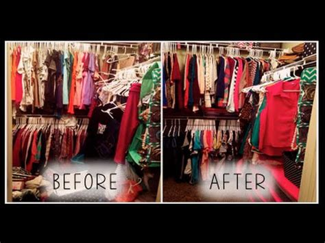 Teenager Room closet makeover before amp after tour reorganized