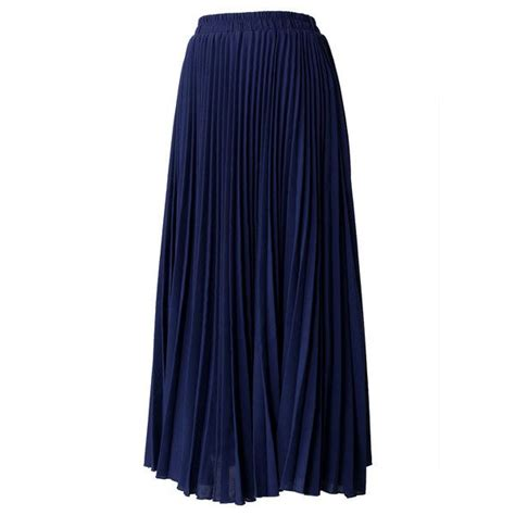 1000 ideas about pleated maxi skirts on navy