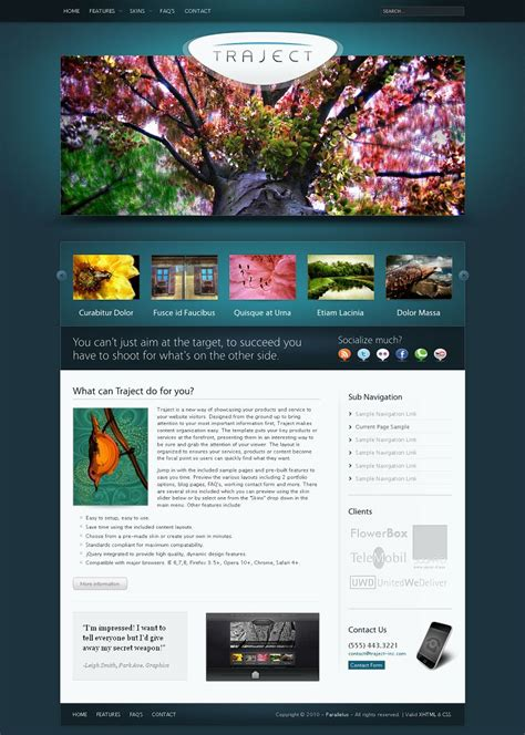 traject wp theme wordpress portfolio business template
