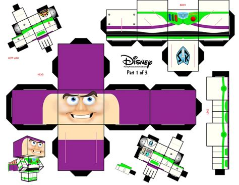 paper toy buzz lightyear paper craft pinterest buzz