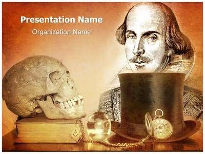 William Shakespeare Plays Powerpoint Template Is One Of The Best Powerpoint Templates By Shakespeare Powerpoint Template