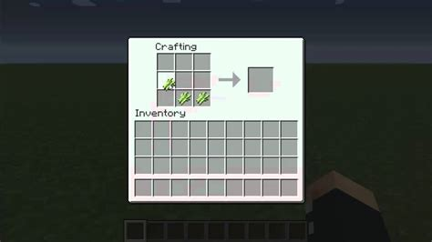 Minecraft Make Paper - how to make paper in minecraft