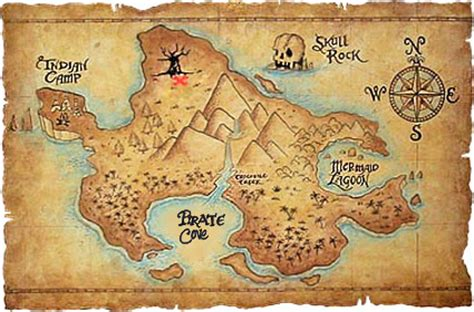 neverland map neverland map jpg 425 215 280 b day ideas