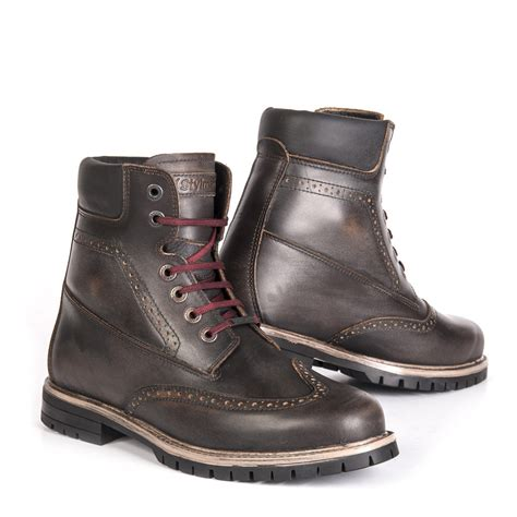 Top 7 Must Boots by Stylmartin Motorcycle Boots Wave Waterproof Brown